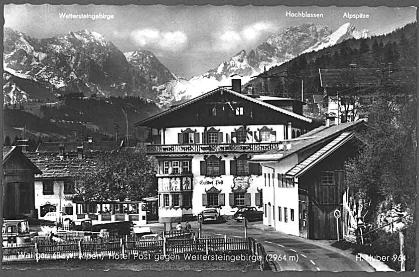 Hotel Zur Post Wallgau